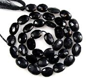 Black Spinel Faceted Beads