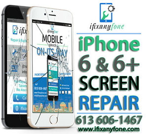 iPhone 5-5s-5c-6-6+ iPhone 6s 6s+ LCD Replacement – iPad Repair