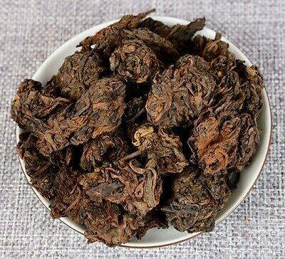 Bud Pu Erh Tea (Aged Lao Cha Tou Golden Bud Pu-erh Loose Tea YunNan ripe puer tea )