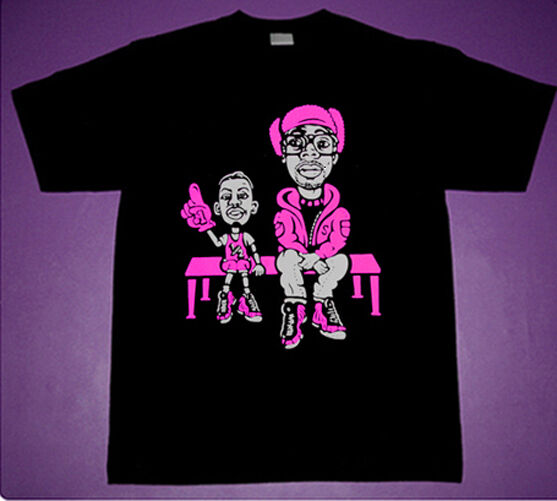 New Lil Penny Sitting Courtside Spike shirt Pink foamposite polarized cajmear XL