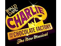 Charlie and the chocolate factory theatre tickets SOLD