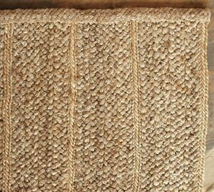 100% Jute Area Rug 5ft X 8ft from Pottery Barn (New)