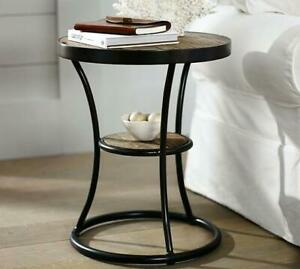 Table d'appoint Style Grange/industriel NEUF/ NEW end table