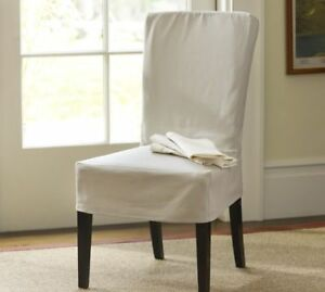 4 Pottery Barn chair covers -brand new