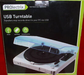 Prolectrix usb Turntable Record Player