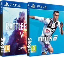 Fifa 19 + Battlefield V PS4