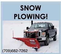 Drivway plowing snow clearing