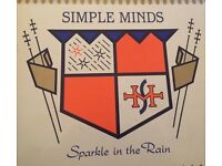 Simple Minds Sparkle in the Rain Vinyl