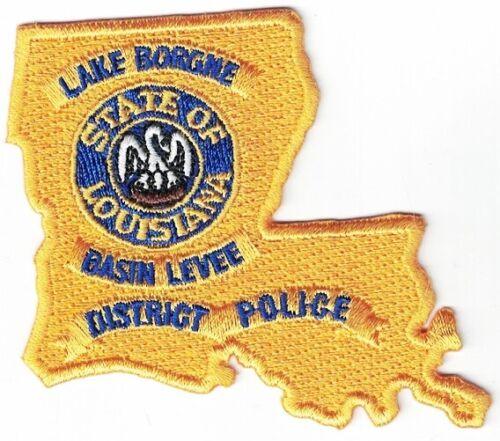 Lake Borgne Basin Levee District  LA Louisiana Police patch