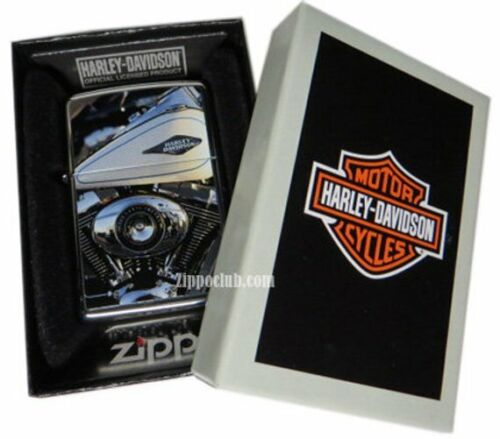 Harley Davidson Engine Gas Tank Zippo Lighter