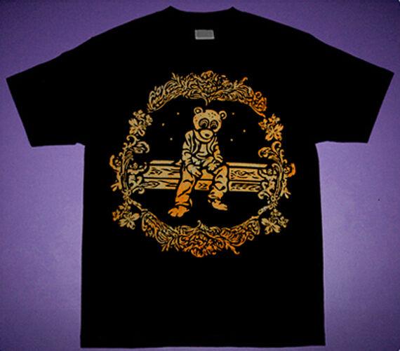 New Gold DropOut Bear shirt kanye college west tlop cajmear saint pablo bape L