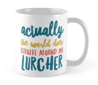 LURCHER GIFT IDEA MUG PRESENT FOR BREED LOVER