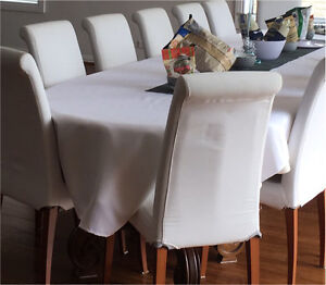 White tablecloth for trestle table Maroubra Eastern Suburbs Preview