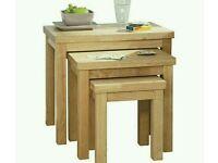 Bentinck Furniture set of 3 nest of tables argos price £159.99