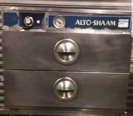 2 DRAWER ALTO SHAAM HOLDING CABINET FOR PERI PERI CHICKEN