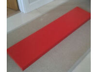 Ikea lack floating shelf red gloss