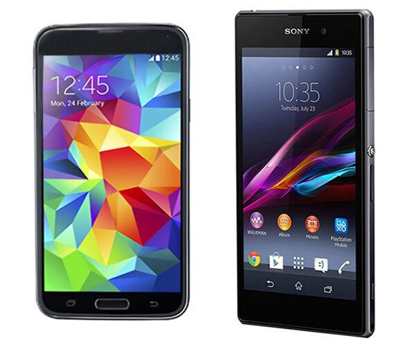 Samsung Galaxy S5 vs. Sony Xperia Z1 | eBay