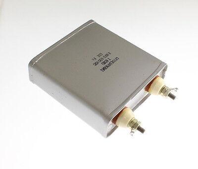 1x 8mfd 600vdc Hermetically Sealed Oil Capacitor 8uf 600v 600 Volts Dc