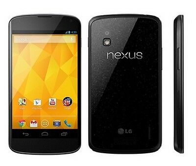 "Original Unlocked LG Google Nexus 4 E960 - 4.7"" 3G Wifi 16GB 8MP Android Phone"