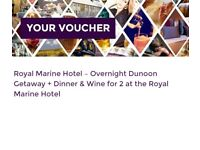 Royal Marine DBB Stay Dunoon Valid Til Christmas