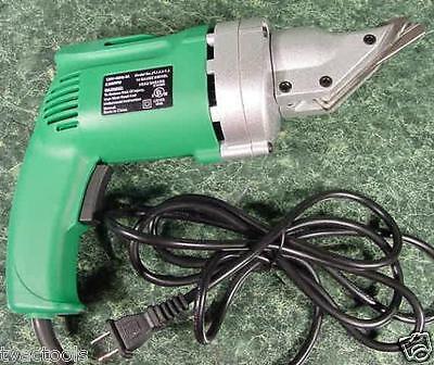 Electric UL Listed METAL HEAD SHEAR CUTTING TOOL snip shear nibbler