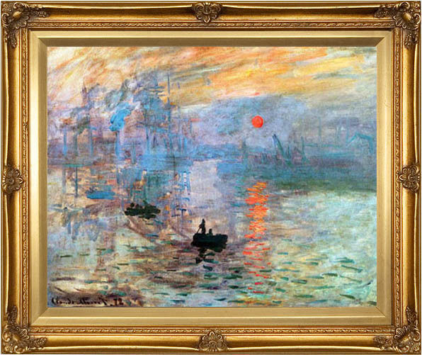how to choose a frame for your monet prints