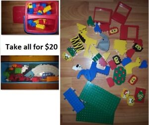 Lego and Mega Bloks Building Blocks Toy Lot (Take all for $20)