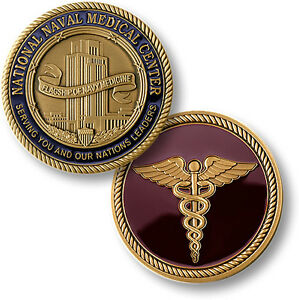 BETHESDA-NATIONAL-NAVAL-MEDICAL-CENTER-NEW-COIN-MILITARY-UNITED-STATESD