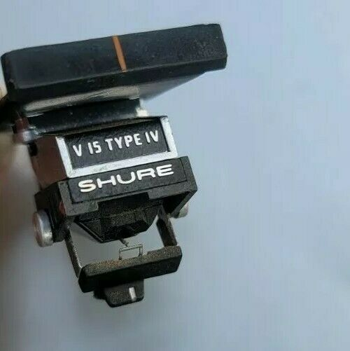 Vintage Shure V15 Type IV Turntable Stereo Cartridge with Stylus Original Exct