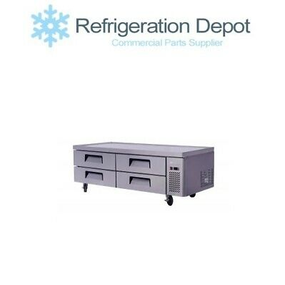Migali C-cb72 Refrigerated Chef Base - Four Drawer 15 Cuft
