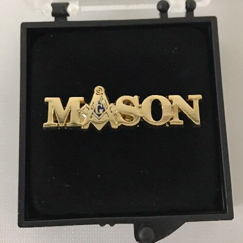 Freemason Masonic Mason Lapel Pin