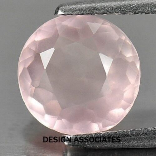 ROSE QUARTZ 10 MM ROUND CUT ALL NATURAL