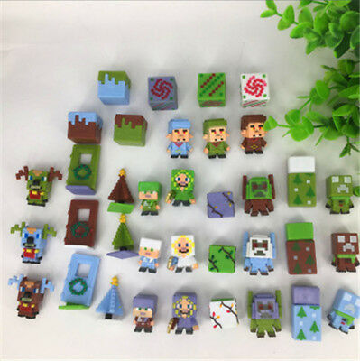 36pcs/lot Minecraft More Characters Action Figure Child Toys Cute Gift 6 Series