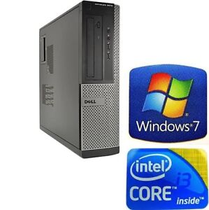 DELL 3010 i3/4GB MEMORY/3.3GHZ DVD 250 GD HDD * FREE DELIVERY*