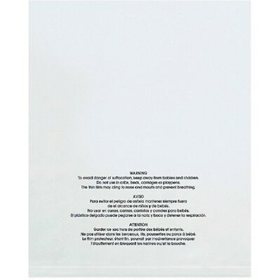 1-4000 18x24 Suffocation Warning Self Sealing Clear Poly Bag Amazon Fba Approved