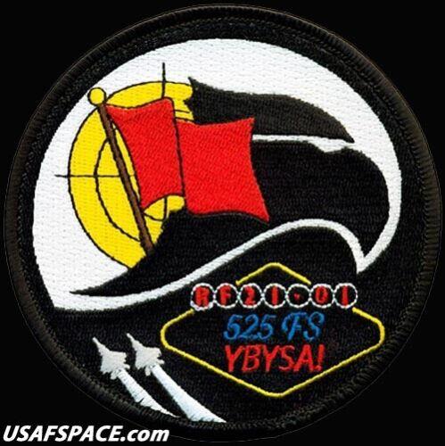 USAF 525th FIGHTER SQ- F-22 -RED FLAG 2021-Elmendorf AFB, AK- ORIGINAL VEL PATCH