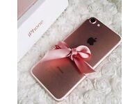 Iphone 7 Rose Gold Brand New Unlocked