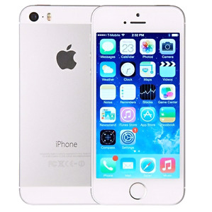 Iphone 5s silver 16 GB rogers / chatter