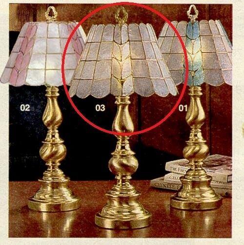 Pottery Barn Hanging Lamp Shades: Capiz Shell Lamp Shade