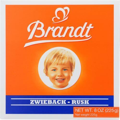 Brandt-Zwieback, Pack of 10 ( 8 OZ )