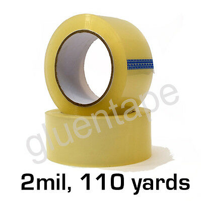 2 mil Clear Carton Sealing Packing Tape 2