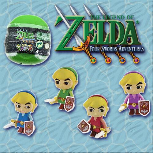 TOMY The Legend of Zelda Four Swords Gacha Ball Mystery Link Figure - One Random