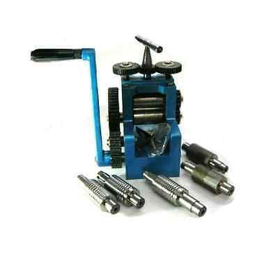 """Proops Jewellers Mini Rolling Mill with 7 Rolls 3"""" x 1 5/8"""". J1020"""