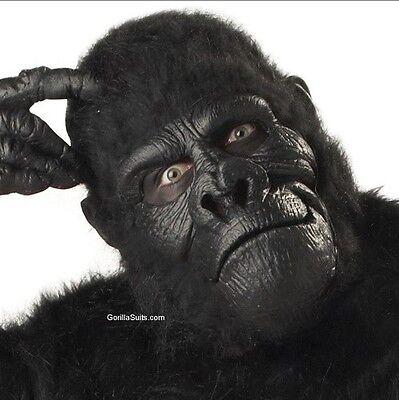 Best Cheap Gorilla MASK (KING KONG no Suit Costume)-Halloween