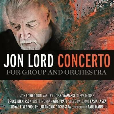 LORD JON - CONCERTO FOR GROUP AND ORCHESTRA - CD+DVD NEW