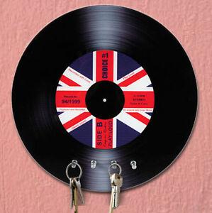 Portachiavi a parete disco vinile appendi chiavi design ebay - Portachiavi da parete design ...