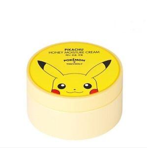 TONYMOLY-Pokemon-Pikachu-Honey-Moisture-Cream-300ml-Direct-USA-shipping
