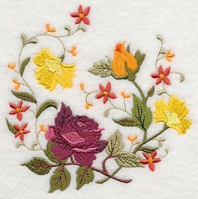 "Series - 9  x 12"" Embroidered Quilt Block -Pre Order - Autumn Potpourri"