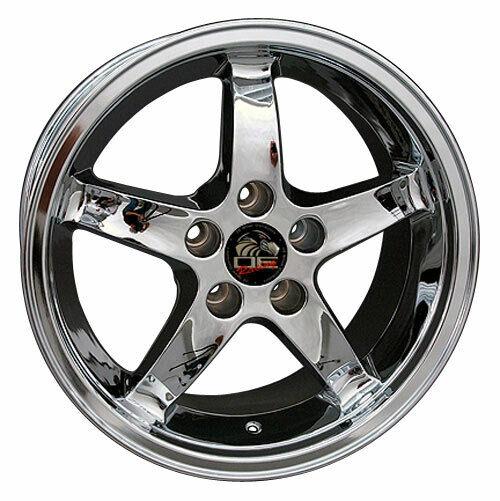 Aluminum Alloy Wheel Rim 17 Inch 1994-2004 Ford Mustang 5-114.3mm 5 Spokes
