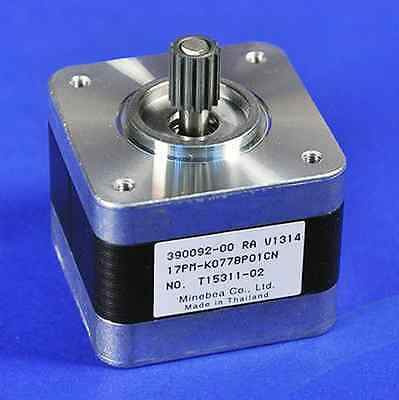 Nema17 Single Shaft 0.3a40oz-in Stepper Motor With Pulley - Lot Of 10